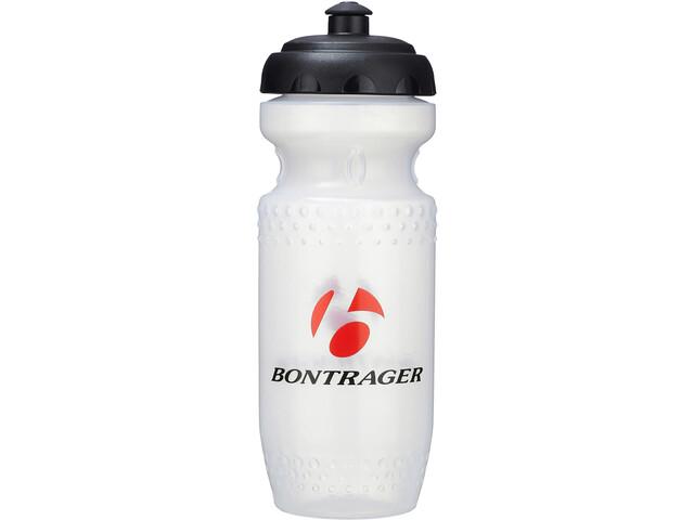Bontrager Screwtop Silo Clear X1 Drinking Bottle, wit